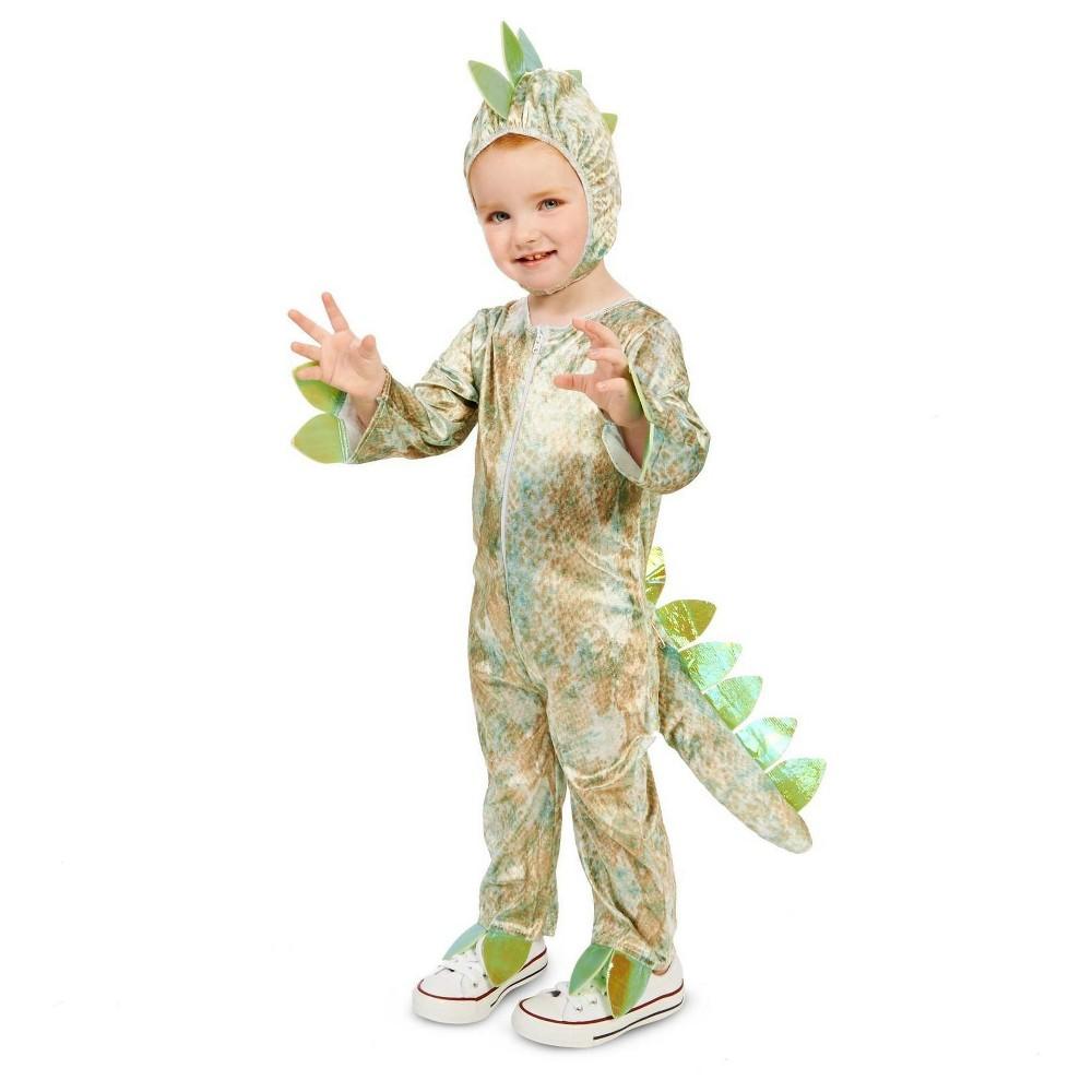 Dinosaur Toddler Costume 2T-4T, Toddler Unisex, Green