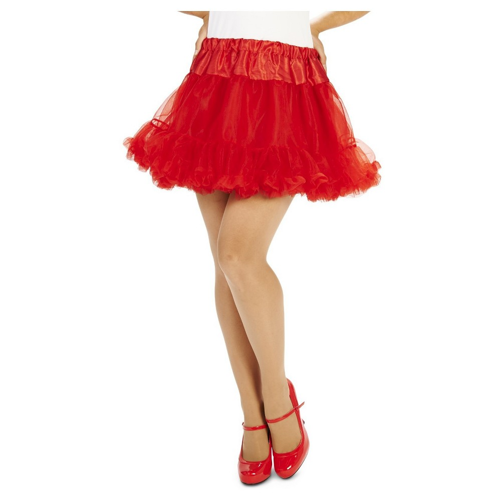 Womens Tutu Costume Red, Costume Apparel Bottoms