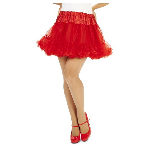 Women's Tutu Costume Red - image 1 of 3