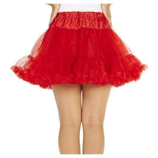 Womens Tutu Costume Red