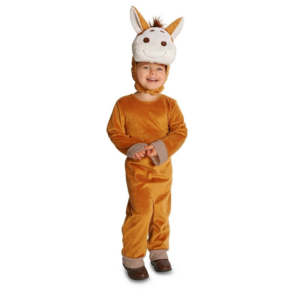 Rodeo Horse Baby Costume 18-24 Months, Infant Unisex, Brown