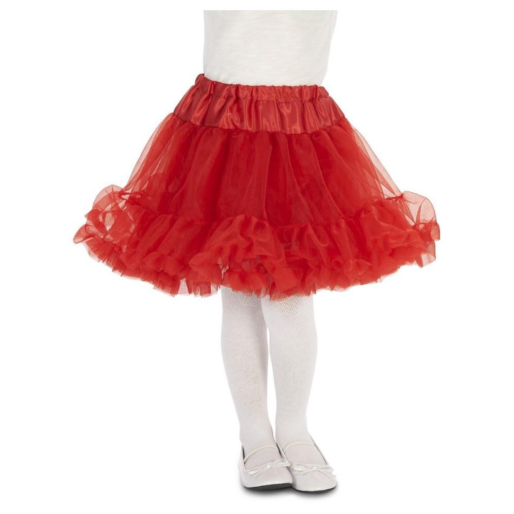 Girls Tutu Costume, Red, Costume Apparel Bottoms