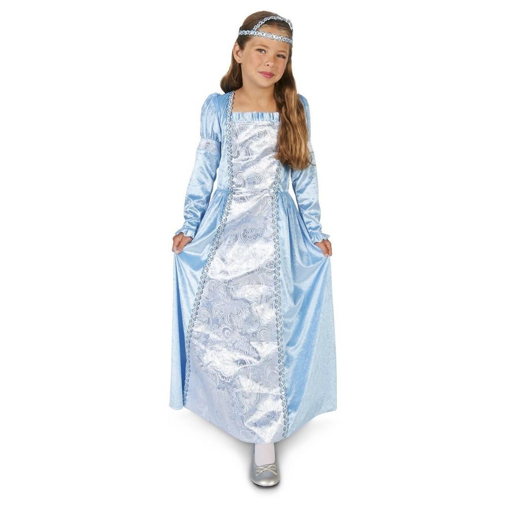 Juliette Capulet Childs Costume M(8-10), Girls, Multicolored