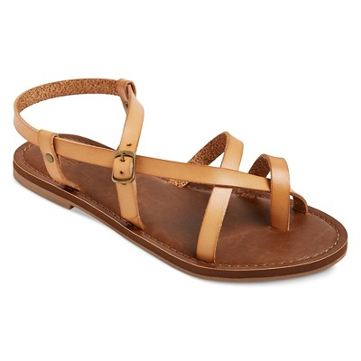938b1729189 Women s Wide Width Lavinia Thong Sandals - Mossimo Supply Co.™ Tan 6.5W    Target