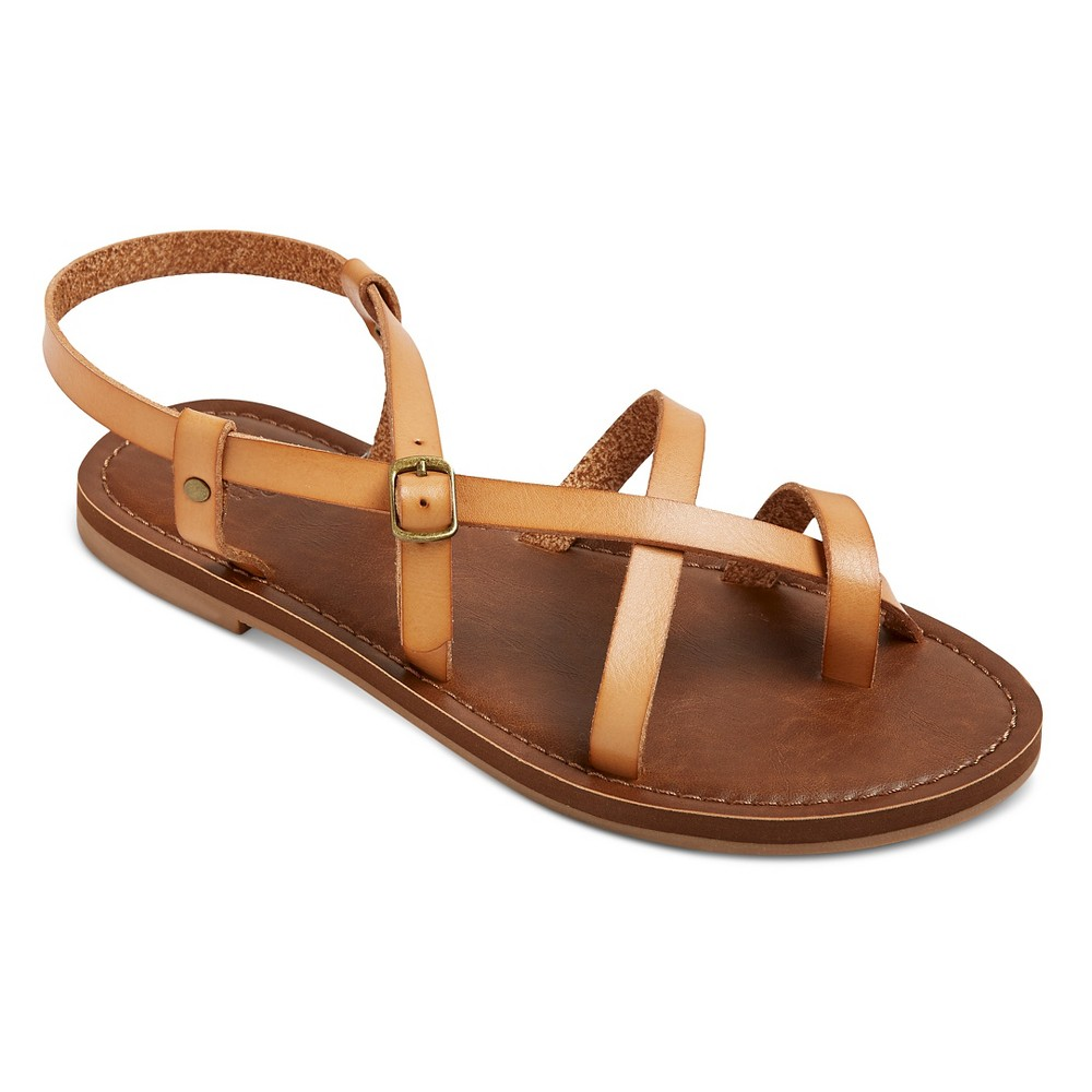 Womens Lavinia Thong Sandals - Mossimo Supply Co. Tan 9.5