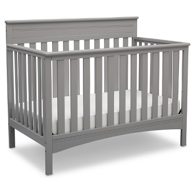 Delta Children® Fabio 4-in-1 Standard Full-Sized Crib - Gray