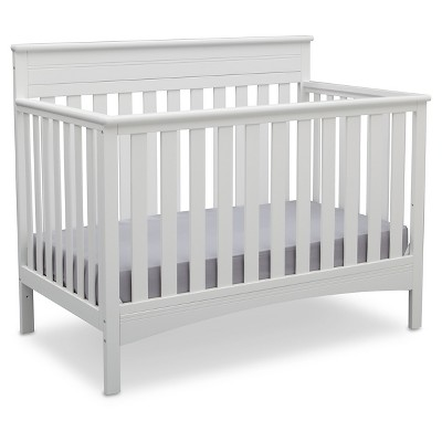 Delta Children® Fabio 4-in-1 Standard Full-Sized Crib - Bianca