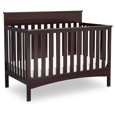 Delta Children® Fabio 4-in-1 Standard Full-Sized Crib - Dark Chocolate