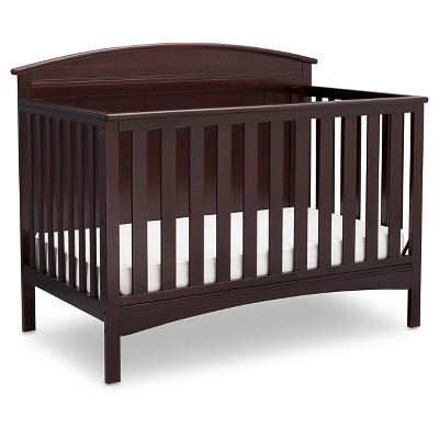 Delta Children® Archer 4-in-1 Standard Full-Sized Crib - Dark Chocolate