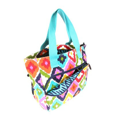 French Bull® 18.5in Yoga Tote Bag - Floral Ikat Pattern