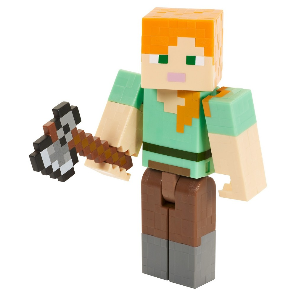 Minecraft Alex with Axe Figure - Series 4