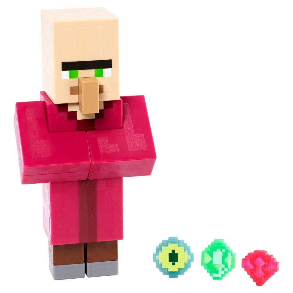 Minecraft Villager with Emerald Figure - Series 2