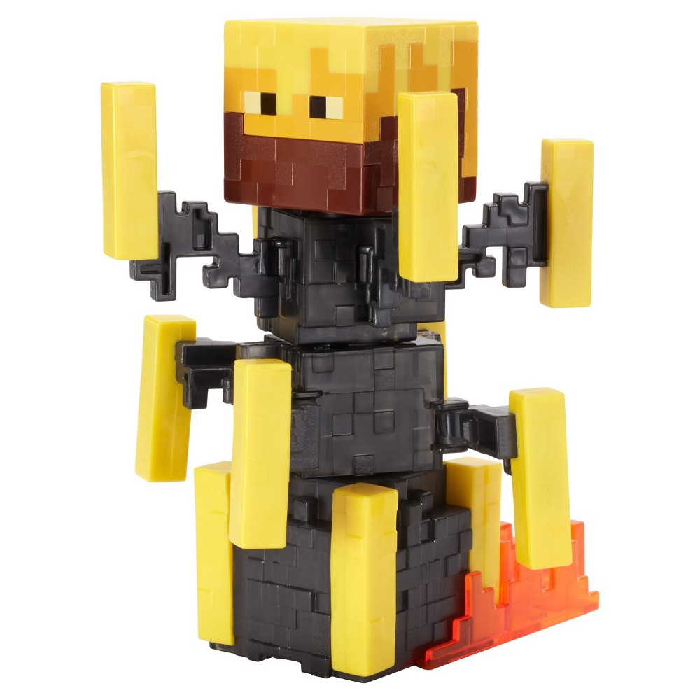 Minecraft Blaze Figure with Spinning Action - Series 5