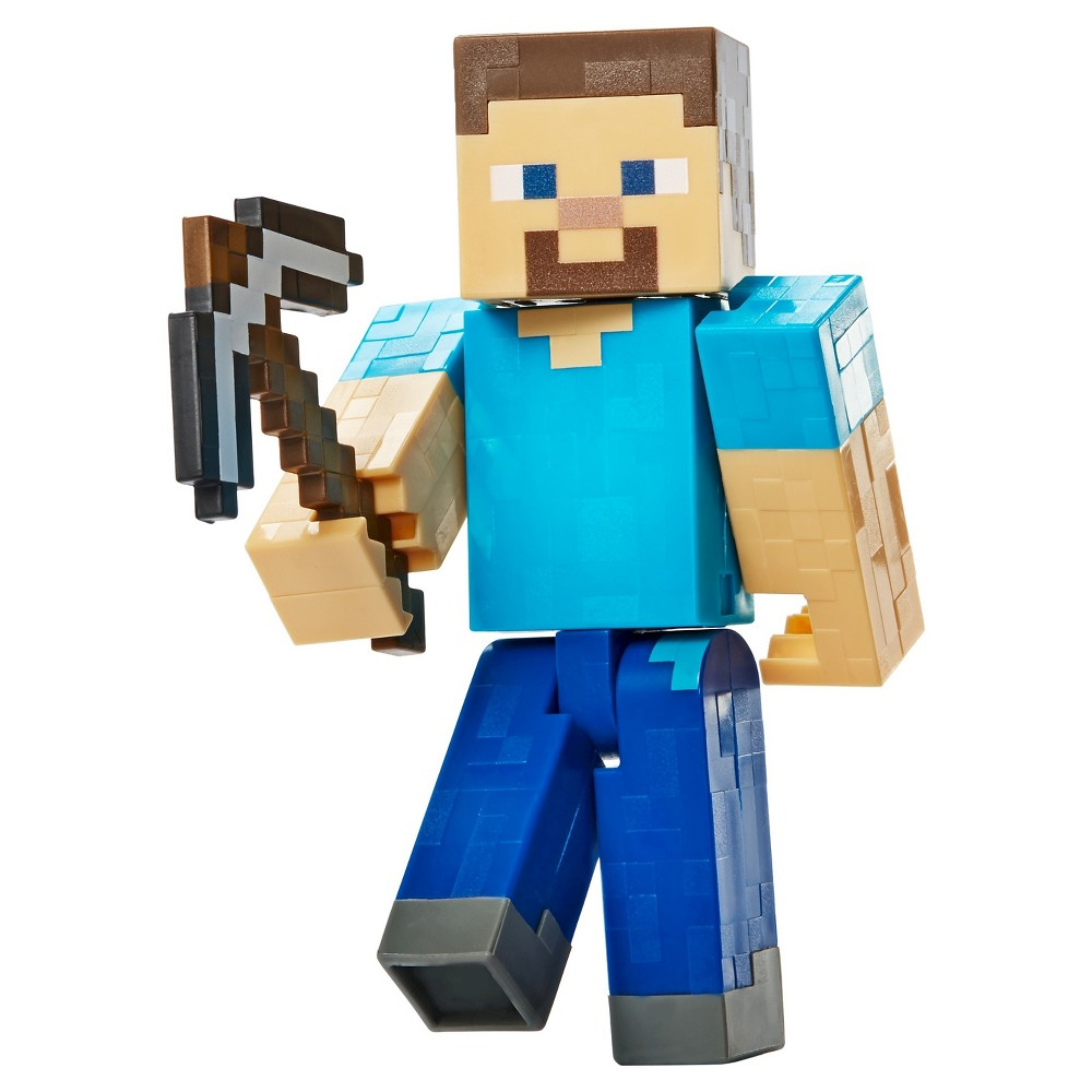 Minecraft Steve with Pickaxe - Series 3