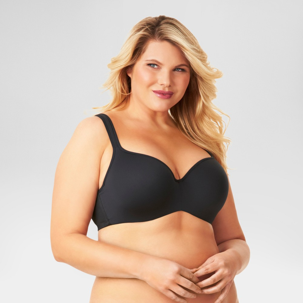 Kissed by Olga Womens Balconette Bra Black 40D