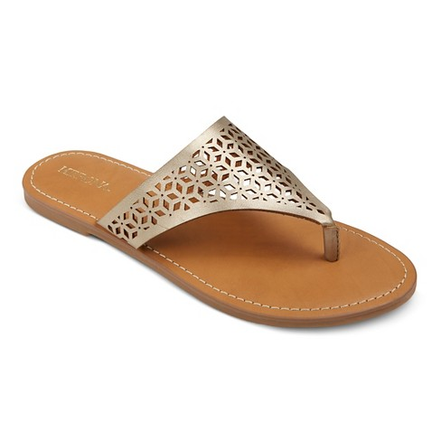 Women's Jaylyn Thong Sandals Mossimo Supply Co.™ - image 1 of 3