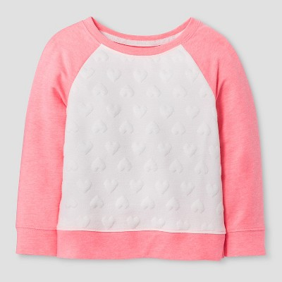 Baby Girls' SweatShirt Cat & Jack™ - Almond Cream 18M