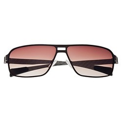Breed Men's Meridian Polarized Sunglasses with Titanium Frame and Carbon Fiber Arms - Brown/Brown
