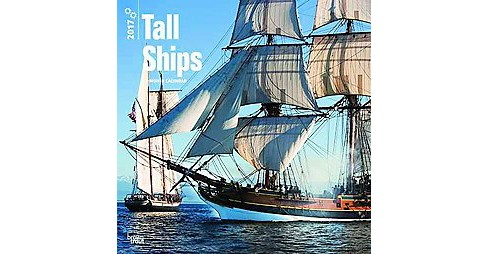 Tall Ships 2017 Calendar (Paperback) - image 1 of 1