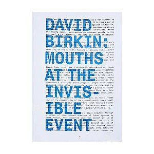 Mouths at the Invisible Event (Paperback)