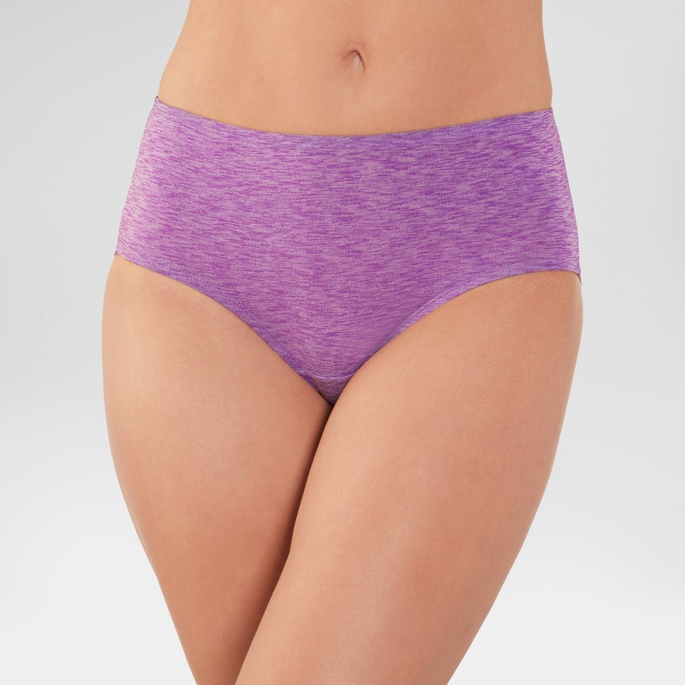 Fruit of the Loom Womens Dreamflex Low Rise Briefs 4pk - Size 6 (Colors May Vary), Multicolored