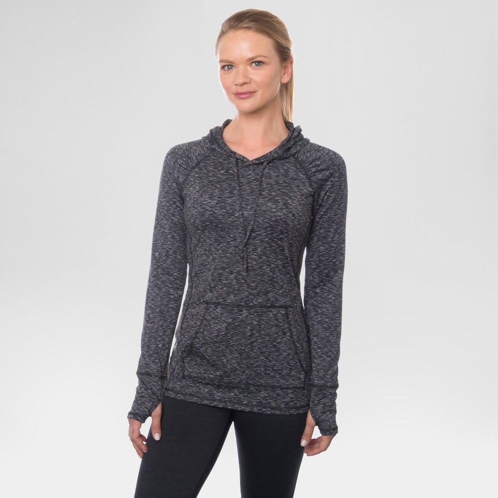 Women's Long Sleeved Peached T-Shirt Black S - Rbx