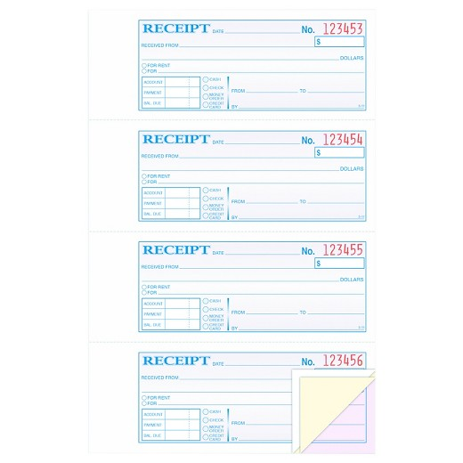 Flan Receipt Excel Adams Receipt Book   X  Threepart Carbonless  Forms  St Charles County Personal Property Tax Receipt with Fake Receipts Maker Adams Receipt Book   X  Threepart Carbonless  Forms Make A Invoice Online