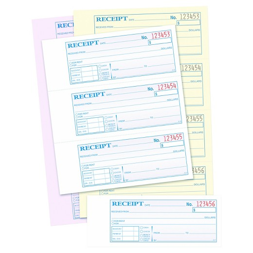 Hospital Invoice Excel Adams Receipt Book   X  Threepart Carbonless  Forms  Due Invoices Word with Costco Receipt Excel Adams Receipt Book   X  Threepart Carbonless  Forms Home Depot Receipt Lookup Word