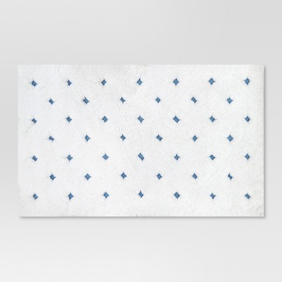 Dot Bath Rug Blue/White - Threshold™