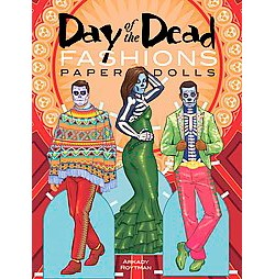 Day of the Dead Fashions Paper Dolls (Paperback) (Arkady Roytman)