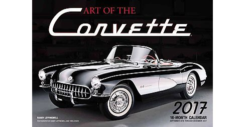 Art of Corvette 2017 Calendar (Deluxe) (Paperback) - image 1 of 1
