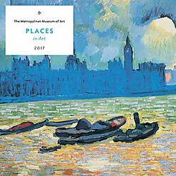 Places in Art 2017 Calendar (Paperback)