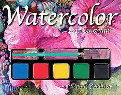 Watercolor 2017 Calendar (Paperback) (Dennis Pendleton)