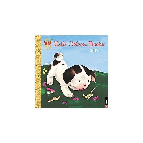 Little Golden Books 2017 Calendar (Paperback)