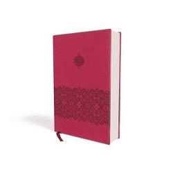 Teen Study Bible : New International Version, Cranberry Italian Duo-Tone With Ribbon Marker (Reprint)
