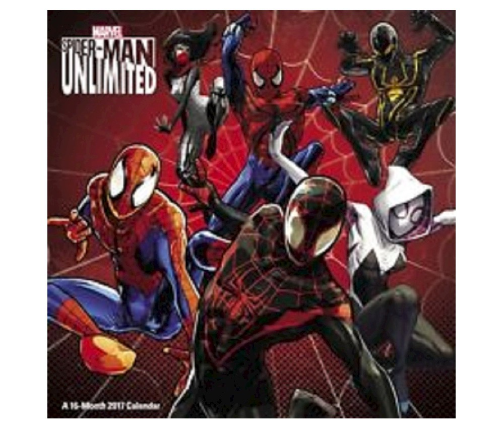 Spider-Man Unlimited 2017 Calendar (Paperback)