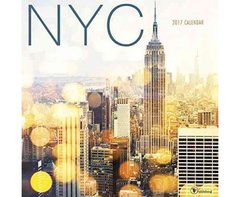 NYC 2017 Calendar (Paperback) - image 1 of 1