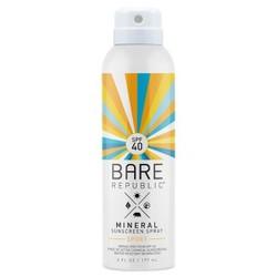 Bare Republic Mineral Sport Sunscreen Spray - SPF 40 - 6oz