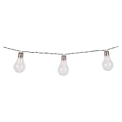10Ct Edison Bulb String Lights - Threshold™
