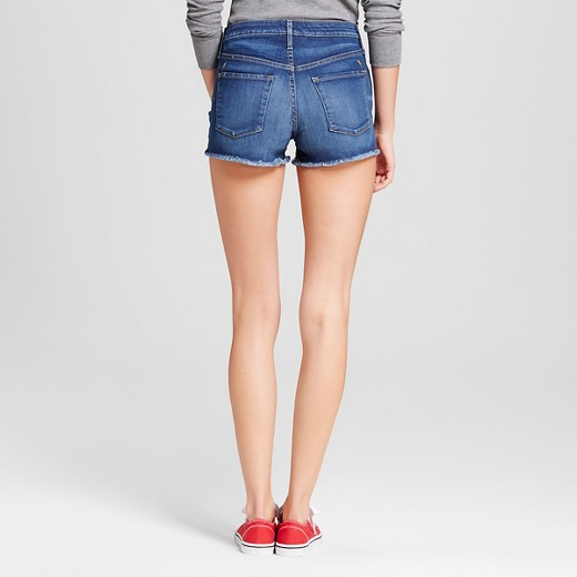 Women's High-rise Shorts - Mossimo™ Dark Wash : Target