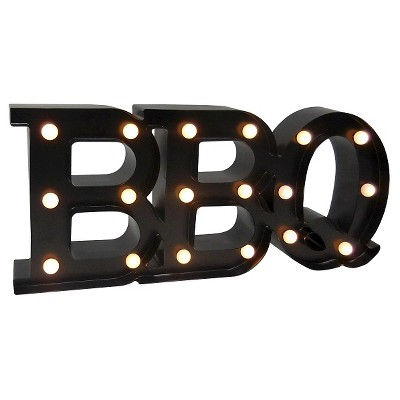 Outdoor Marquee Sign - BBQ - Threshold™