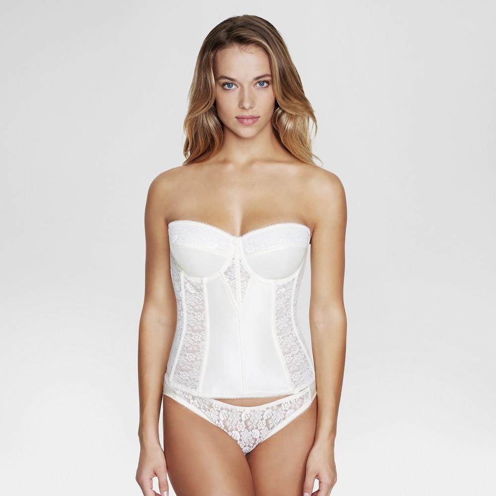 Dominique Women's Lace Corset Bridal Bra #8949 - Ivory 38F plus size,  plus size fashion plus size appare