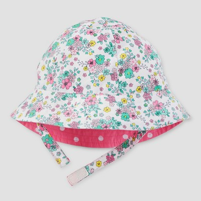 Baby Girls' Sunhat - Just One You™ Made by Carter's® Floral Pink 0-6M