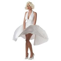 Women's Deluxe Marilyn Costume White