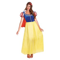 Disney Princess Women's Snow White Deluxe Costume