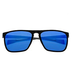 Breed Men's Capricorn Polorized Sunglasses with Titanium Frame and Carbon Fiber Arms