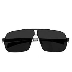 Breed Men's Sagittarius Polarized Sunglasses with Titanium Frame and Carbon Fiber Arms