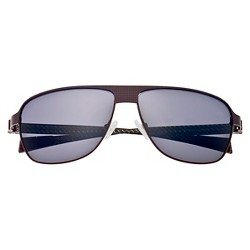 Breed Men's Hardwell Polarized Sunglasses with Titanium Frame and Carbon Fiber Arms