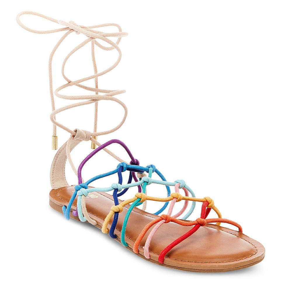 Womens Kassandra Gladiator Sandals - Mossimo Supply Co. 5.5, Multicolored