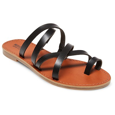 abe6f06eb702 Women s Lina Slide Sandals - Mossimo Supply Co.™ Black 7.5   Target